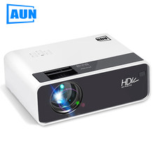 AUN HD Proiettore D60 | 1280x720 Risoluzione MINI 3D LED Video Proiettore per Full HD Home Cinema. HDMI (Opzionale Android WIFI D60S)(China)