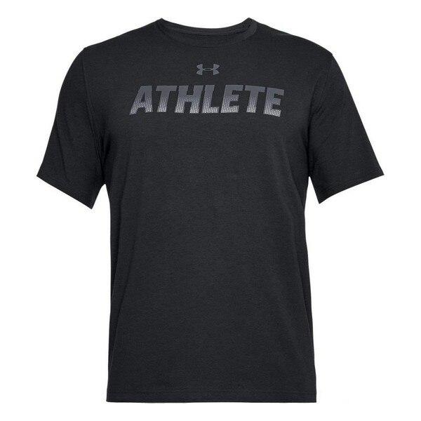 Men's Short Sleeve T-Shirt Under Armour 1305661-001 Black