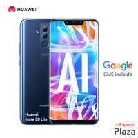 Huawei Mate 20 Lite Smartphone(4GB RAM,64GB ROM,teléfono móvil.libre,nuevo,barato,google,android)[Versión Española Oficial]