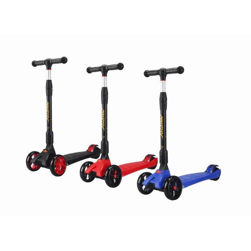 Three-wheeled Scooter, Folding Handle Is Adjustable In Height, Aluminum, Up To 50 Kg, 64, 5x28, 5x61.5 Cm,