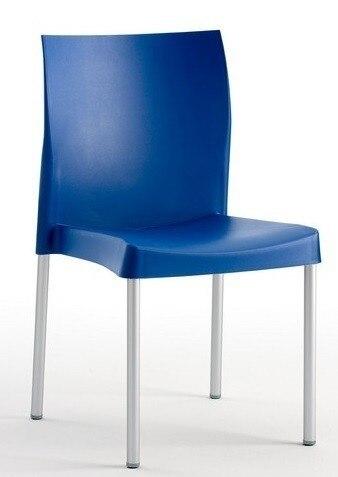 Chair SANDRA, Aluminum, Polypropylene Blue *