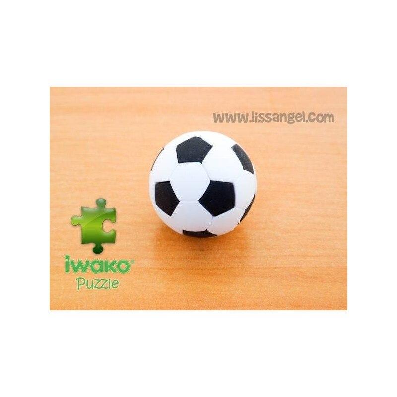 Puzzle IWAKO Eraser - Soccer Ball