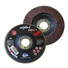 Shark Flap Disc 115x22.2 Mm 40 Sand (10 Pcs) 431620991