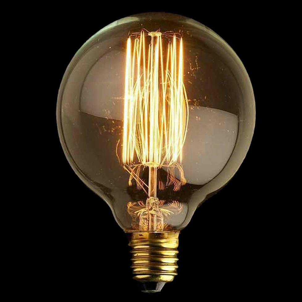 G95 Upright Filament Bulb E27 40W Edison Vintage Decoration Ndustrial