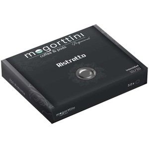 Ristretto Mogorttini, compatible with Nespresso professional 50 capsules.