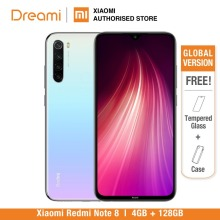 Global Version Redmi Note 8 128GB ROM 4GB RAM (Brand New and Sealed), note8 128gb, note8128 Smartphone Mobile