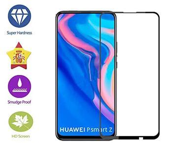 Перейти на Алиэкспресс и купить Im77r 1 3D Премиум Защитная пленка для экрана из закаленного стекла 9H Huawei P Smart Z black cover full…