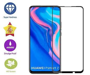 Перейти на Алиэкспресс и купить Im77r 2 шт Премиум 3D стекло закаленное стекло Защита экрана 9H Huawei P Smart Z черный чехол Полный...