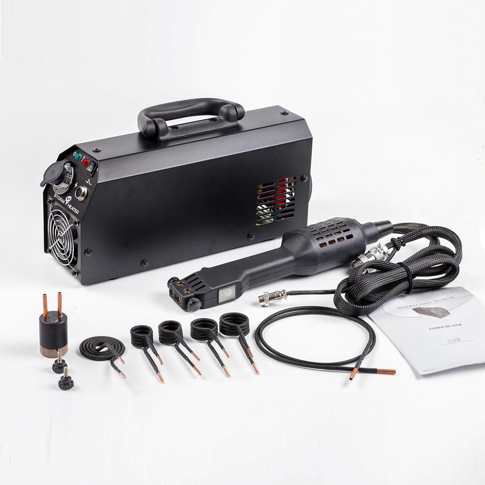 2000W 220V/110V Induction Coil Kits Heater 5 Coils +1 Wires+1 PDR In Car Garage Use Car Repair