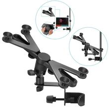 Tablet-Holder Microphone-Stand Mount iPad Adjustable Swivel-Clamp 7-14-Inches Neewer