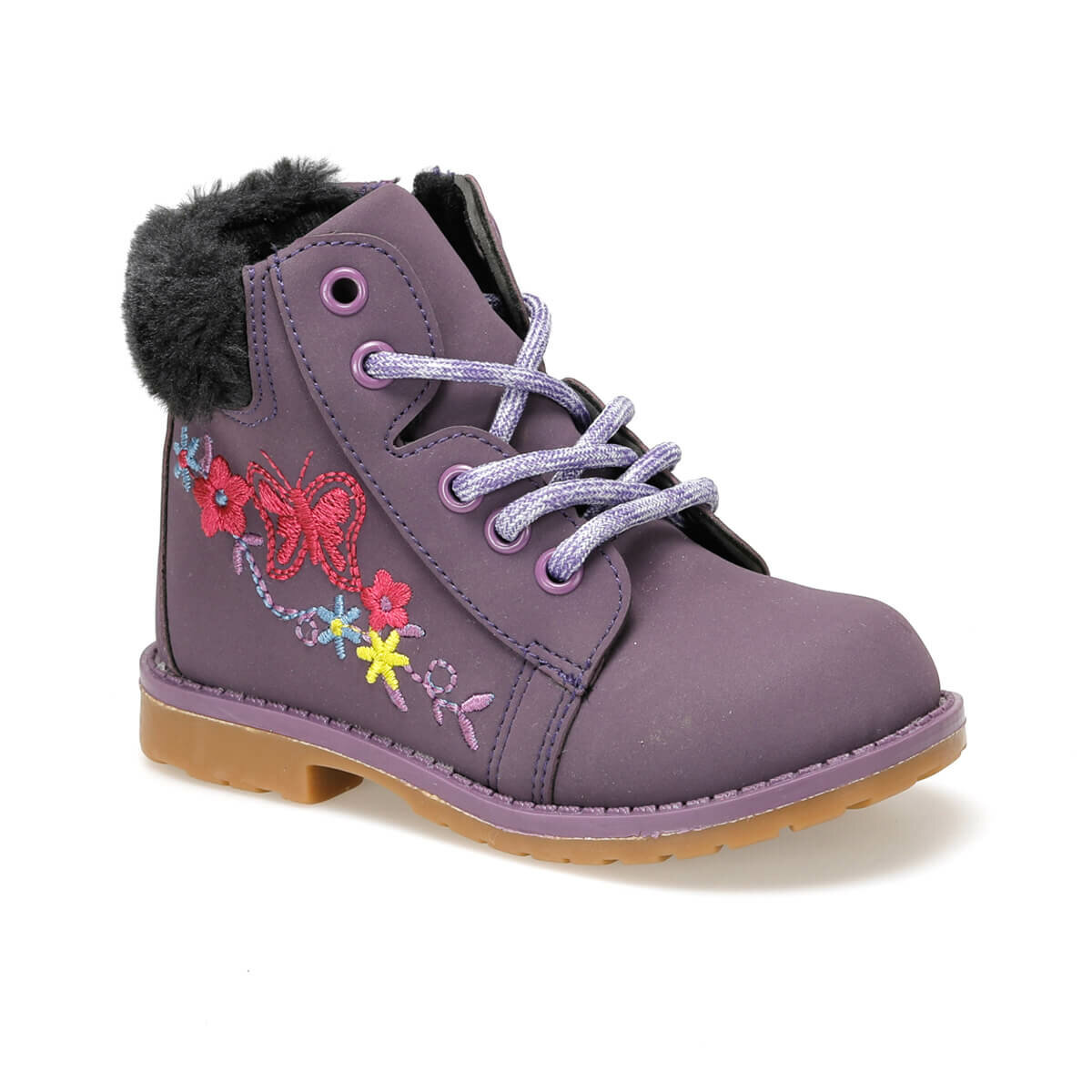 FLO APRILE Purple Female Child Boots Balloon-s