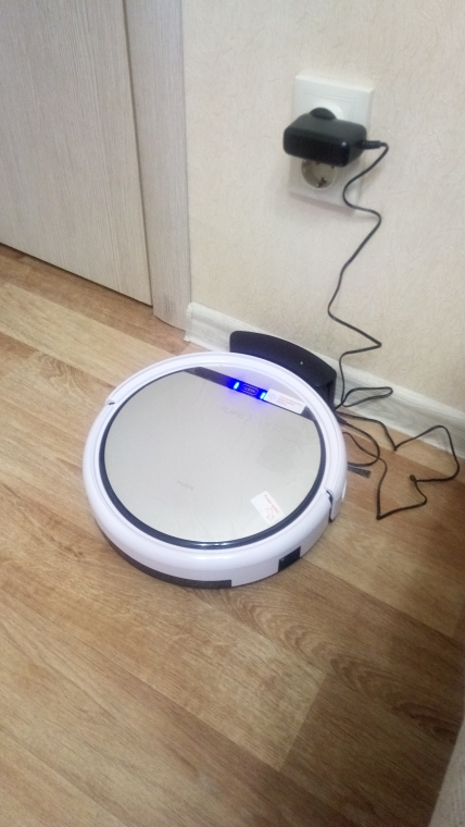Robot vacuum cleaner  ILIFE V50 для сухой уборки.-in Vacuum Cleaners from Home Appliances on AliExpress