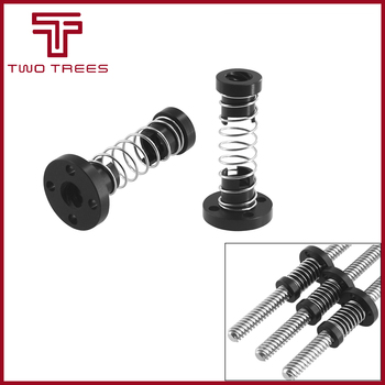 3D Printer T8 POM Anti Backlash Nuts For Lead 8mm Acme Stepper Motor Threaded Rod Eliminate the Gap Spring DIY CNC Accessories image
