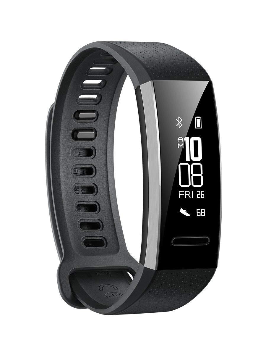 Relógio huawei banda 2 pro chain pulseira de fitness para huawei móvel (gps integrado, firstbeat sistema). Cor preto (preto).