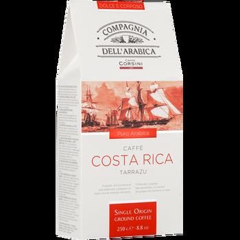 Coffee ground Compagnia dell'arabica Costa Rica Tarrazu 250g