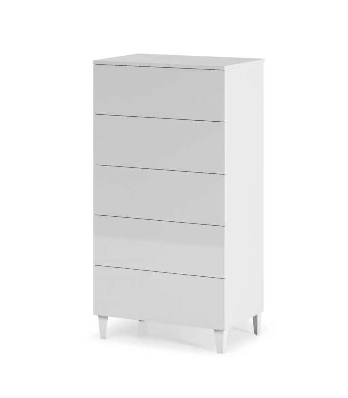 Sifonier 5 Drawers Loft White
