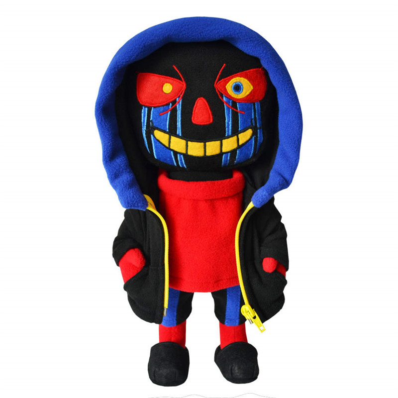 25cm Undertale Plush Toy Zombie Toy Errortale Plush Doll Sans Designer Soft Stuffed Plush Doll Toys For Children Christmas Gifts
