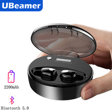Ubeamer M9 True Wireless Headset Stereo Noise Canceling Waterproof Bluetooth Earphones 5.0 With Large Charging Case Gaming TWS(China)