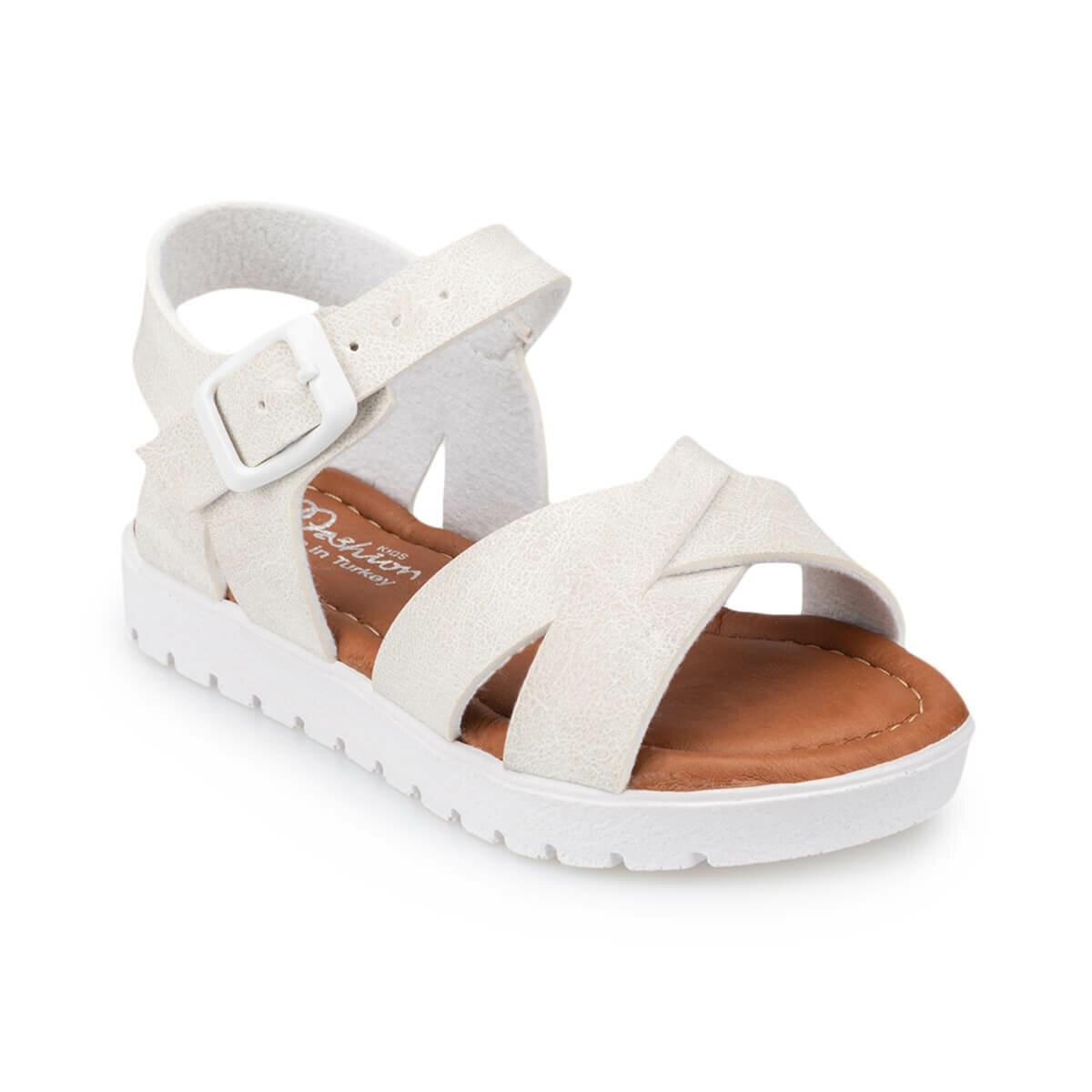 FLO Girls Sandals Gladiator Sweet Soft Children's Beach Shoes Kids Summer Floral Sandals Princess Fashion Cute High Quality Polaris 91. 508159.F