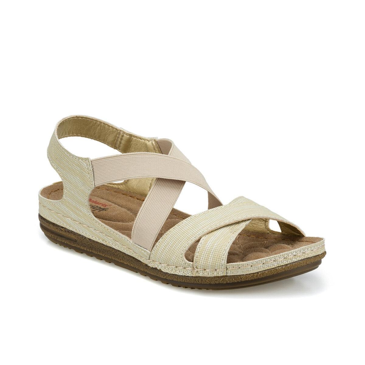 FLO 161164.Z sandalias de mujer Beige Polaris VIISENANTIN, oferta, sexy, rojo, negro, Cuero brillante, sandalias de verano para mujer, cristal de piedras preciosas, sandalias de tacón grueso, correa de tobillo