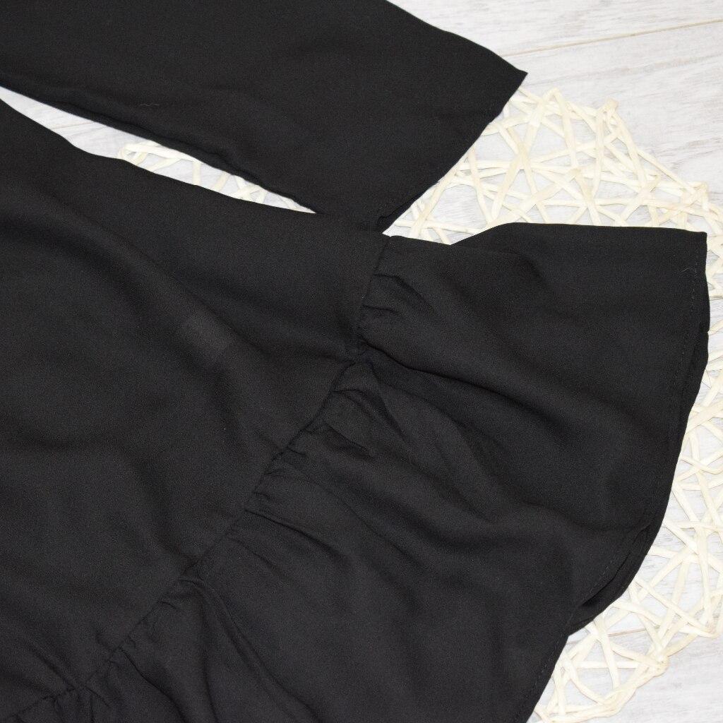 Hot 2019 autumn new fashion women's temperament commuter puff sleeve small high collar natural A word knee Chiffon dress reviews №10 342825