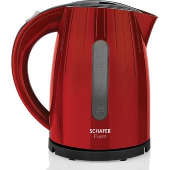 Schafer Fluent Electric Water Heater (Kettle) Red White Kitchen Kettle Electric Water Heater Kettle 1 5l water kettle handheld electric water kettle instant heating auto power off protection wired kettle