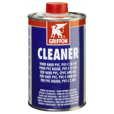 CLEANER PIPES PVC/CPVC/ABS 500ML CLEANER GRIFFON