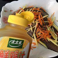 #太太乐鲜鸡汁芝麻香油#清蒸龙舌鱼的做法图解3