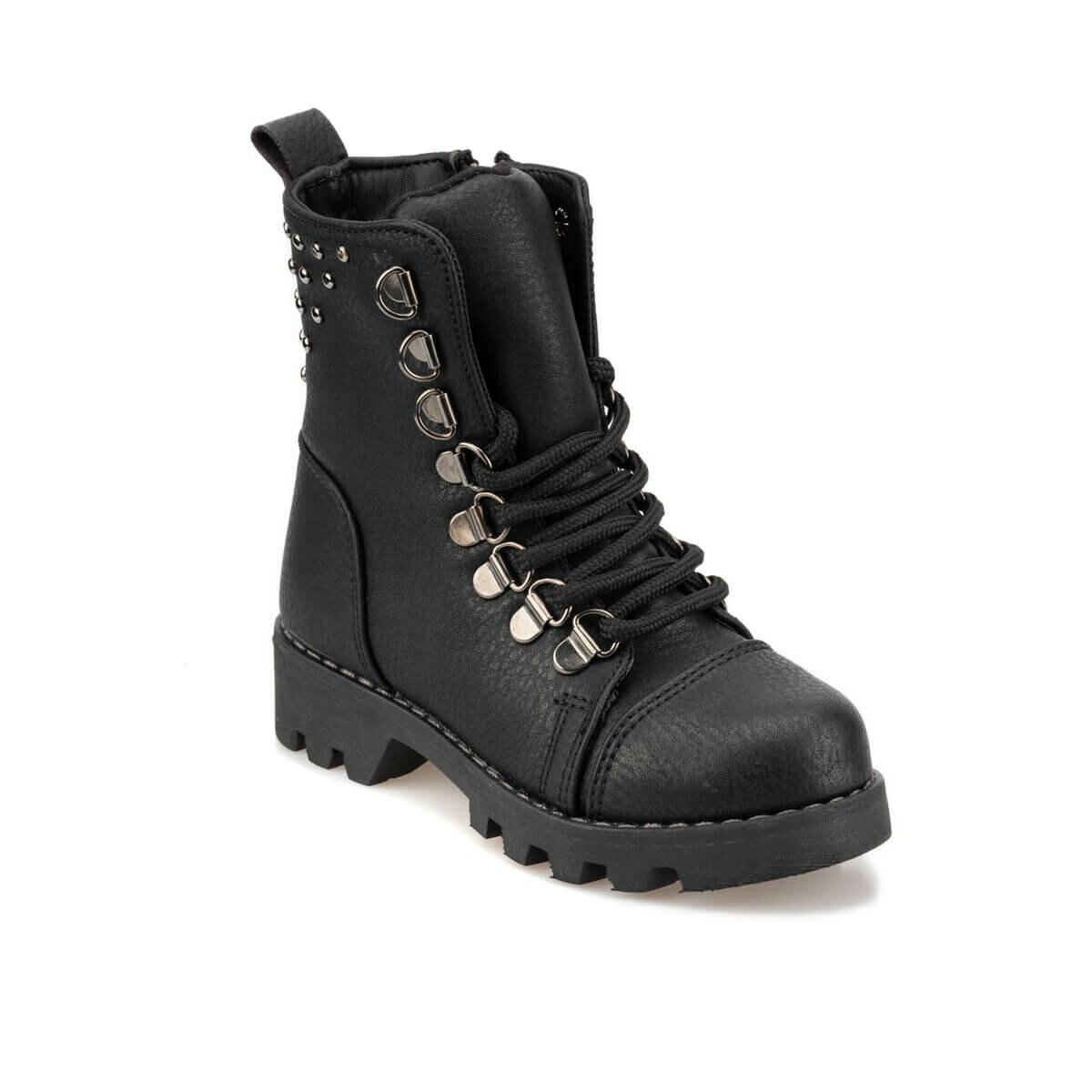FLO 92.511820.P Black Female Child Boots Polaris