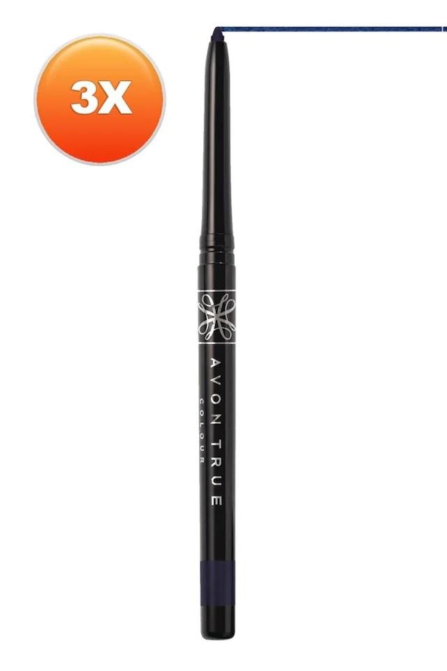 Avon Glimmersticks Açılıp Close Eye Pen Starry Night Blu 432490630
