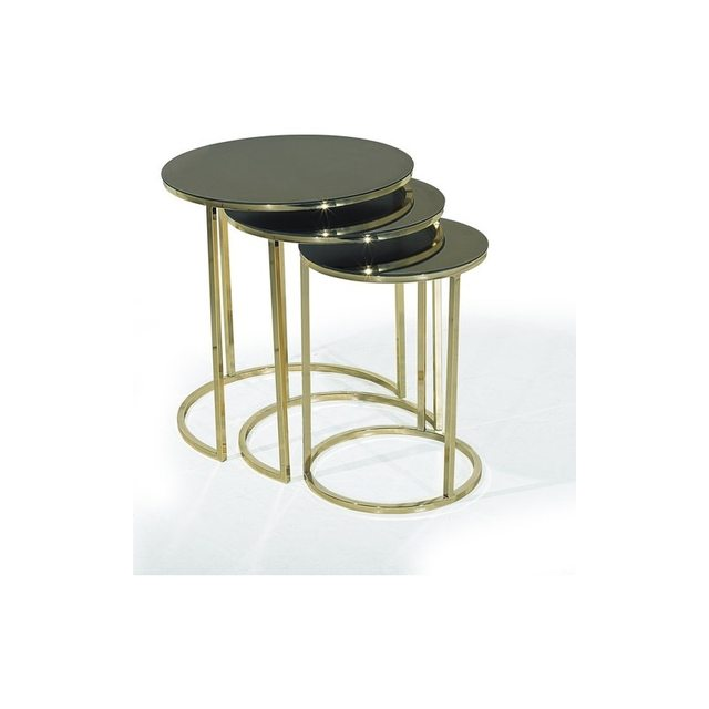 Mirrored Nesting Table 1