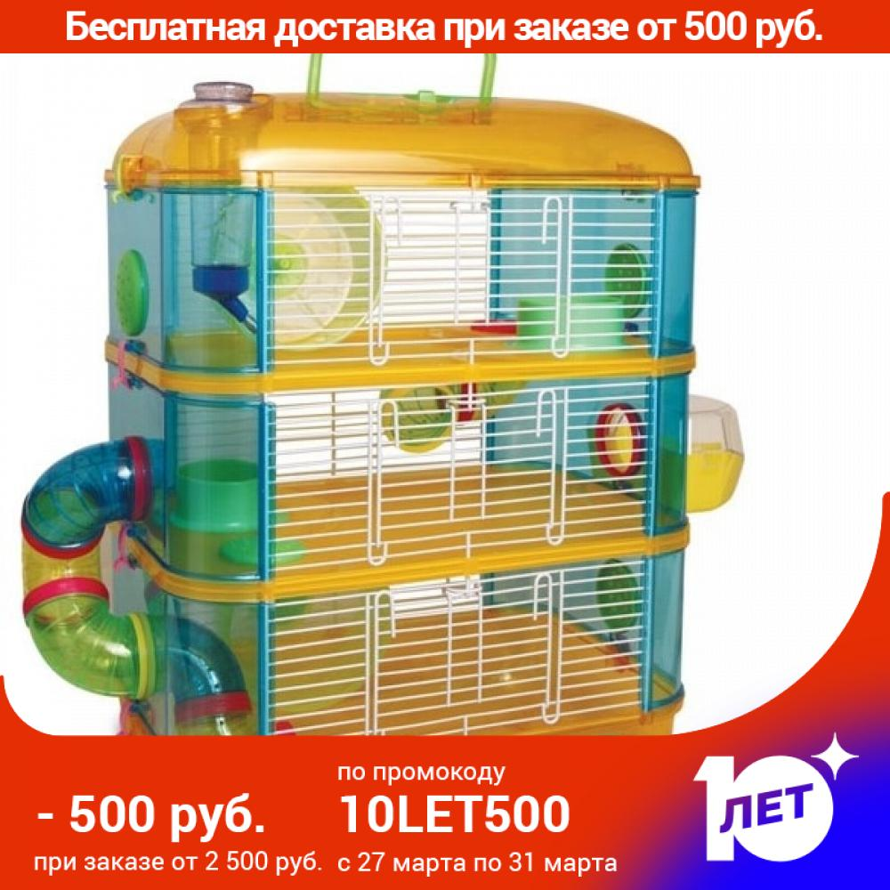 Cage Triol 31003 A For Rodents, 400x260x530mm