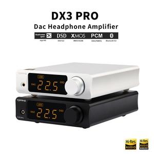 Image 4 - TOPPING DX3 Pro v2 LDAC HIFI USB DAC Bluetooth 5.0 wyjście słuchawkowe dekoder dźwięku XMOS XU208 AK4493 OPA1612 DAC DSD512 optyczny