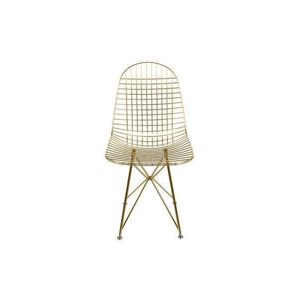 Dining Chair Metalic Angle (46 x 86 x 49 cm)      - title=