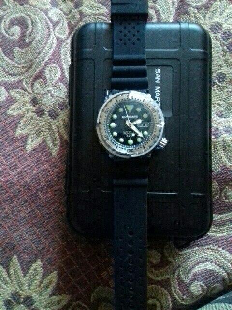 Relógios mecânicos Relógio mergulho Relógio