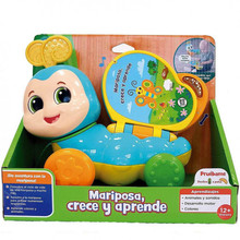Butterfly, grow and learn from CEFATOYS, educational toy, teaches colors, letters and children's songs, from 24 months, child