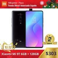 Xiaomi Mi 9T (128GB ROM con 6GB RAM, Triple cámara de 48 MP, Android, Nuevo, Móvil) [Teléfono Movil Versión Global para España] mi9t