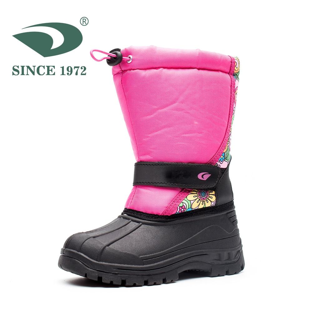 Toddler//Little Kid UBELLA Boys Girls Outdoor Waterproof Winter Warm Snow Boots