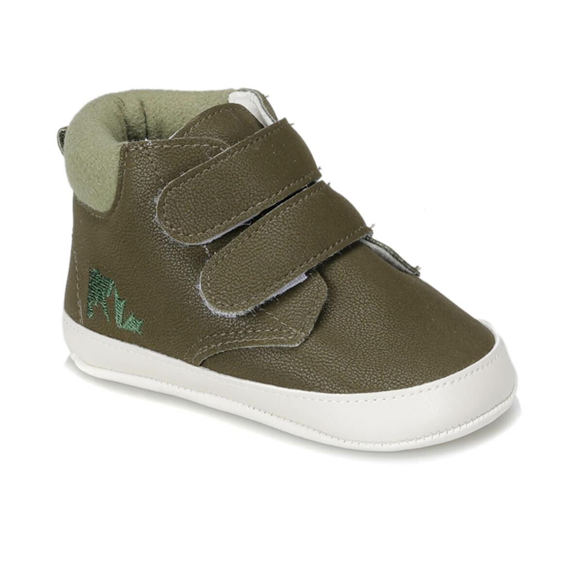 FLO BATTY 9PR Khaki Male Child Hiking Shoes LUMBERJACK