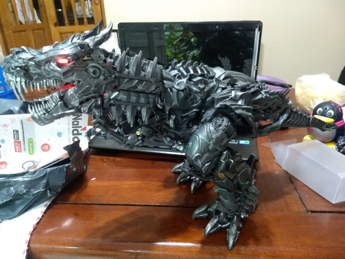 -- Grimlock Dinossauro Deformável
