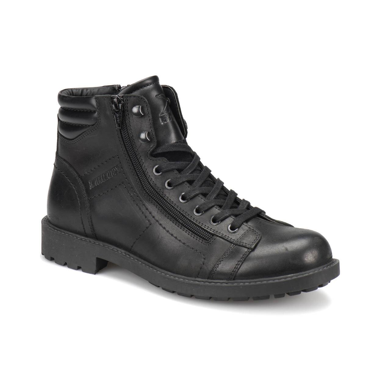 FLO ALERTON Black Men Boots KINETIX