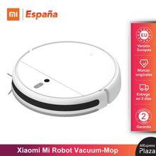 Xiaomi Mi Robot Vacuum-Mop 2600mAh, 2500Pa Suction Power, Sweep & Mop, Auto-recarga y Reanudar la limpieza