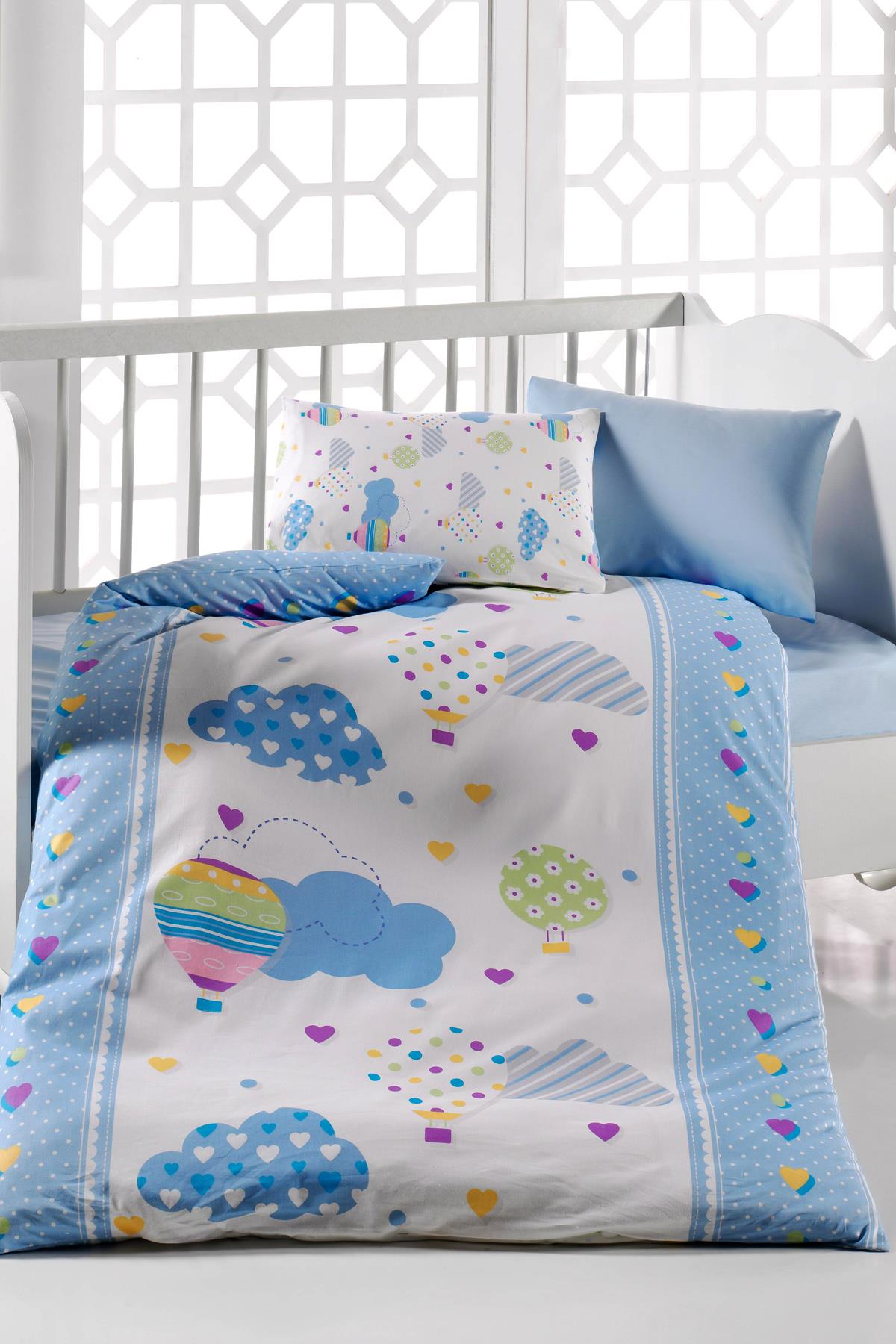 Baby Bed Set Hundred Percent Cotton | Baloon