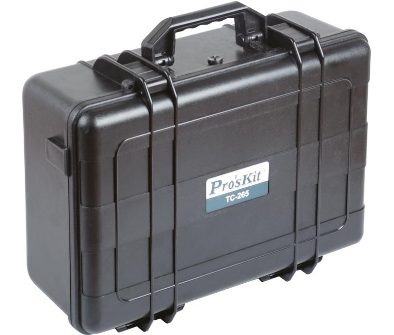 Suitcase For Instruments Precision Plastic ABS Waterproof 455,0X340,0X175,0mm Proskit TC-265