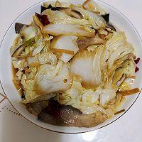白菜炒鲜蘑的做法图解10