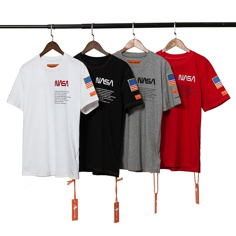 Heron Preston Round Neck Cotton Short Sleeve T-Shirt 1
