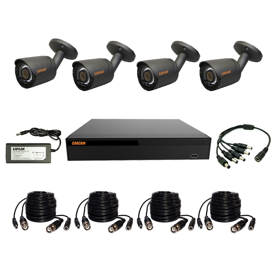 Ready Set CCTV CARCAM VIDEO KIT 2M-8