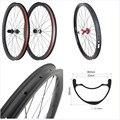 AM DH ENDURO MTB велосипедные колеса углеродный руль для велосипеда-обод Beadless вертикальную стойку раму поворотную ось горного 650b MTB 30 мм UD глубина ...