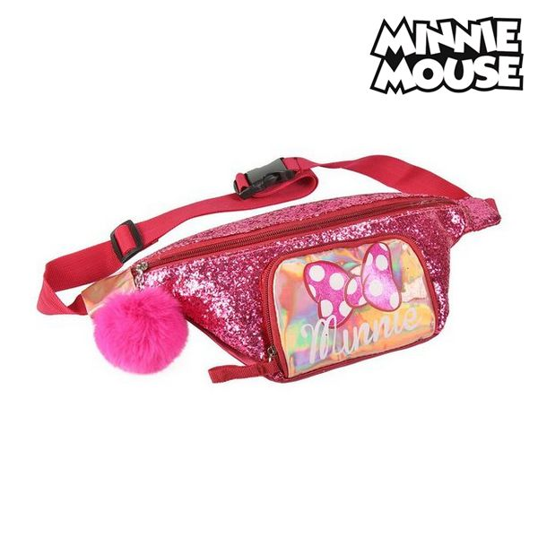 Belt Pouch Minnie Mouse Pink