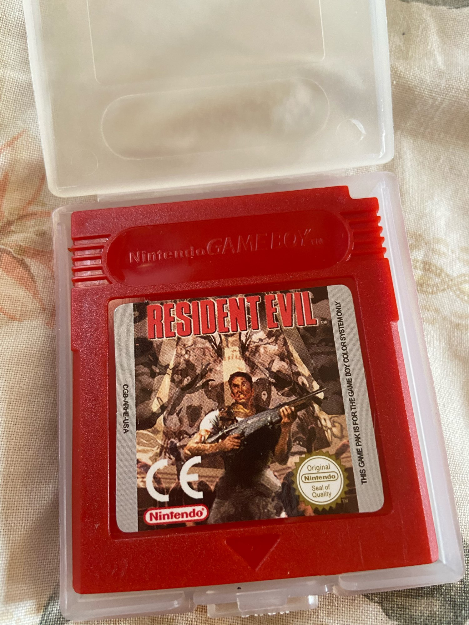 For Nintendo GBC Video Game Cartridge Console Card Residen Evil English Language Version photo review